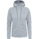 The North Face Tech Mezzaluna Hoodie Women TNF Light Grey Heather